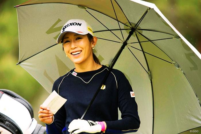 そら笑顔になります 2018年 KKT杯バンテリンレディスオープン 2日目 金田久美子