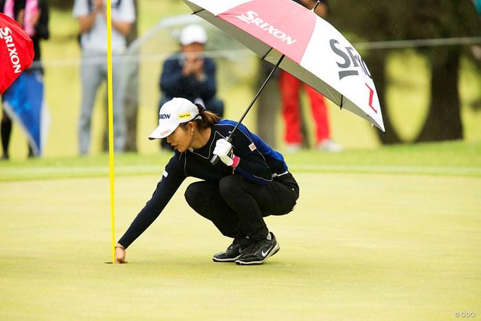 今日もエースが出ました 2018年 KKT杯バンテリンレディスオープン 2日目 金田久美子