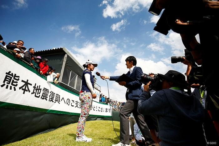 また熊本に帰ってきます 2018年 KKT杯バンテリンレディスオープン 最終日 比嘉真美子
