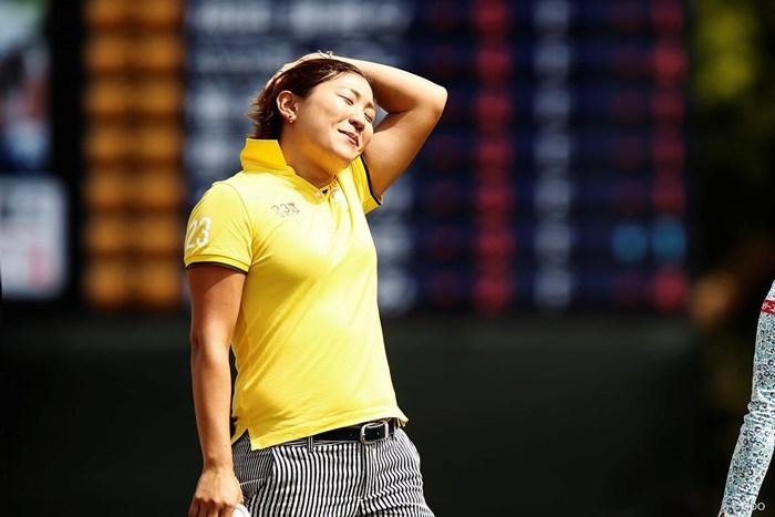 優勝を逃した成田美寿々。次戦に向け気持ちを切り替えた 2018年 KKT杯バンテリンレディスオープン 最終日 成田美寿々