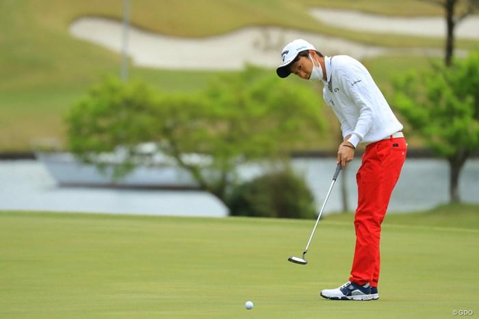 派手さはないけど、堅実なゴルフが持ち味です。 2018年 東建ホームメイトカップ 最終日 重永亜斗夢