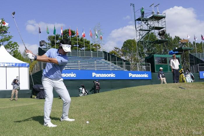週末の関西人の盛り上がりに期待した石川遼。 2018年 パナソニックオープンゴルフチャンピオンシップ 事前 石川遼