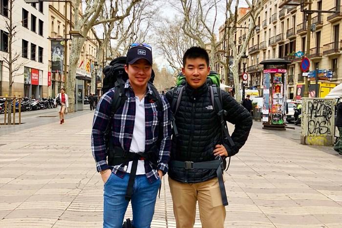 スペイン、ポルトガルへ。ロンドンに住む学生時代の友とオトコ旅! 2018年 川村昌弘