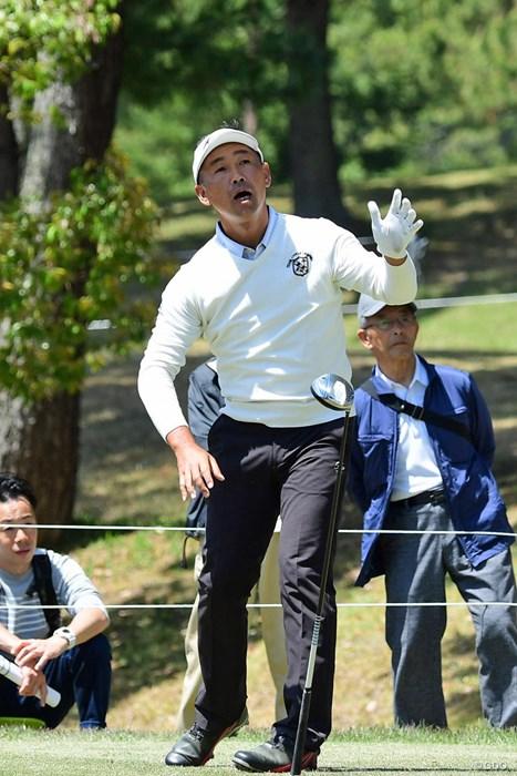 あ~、カル~く振ってもスゴ~くイタ~い! 2018年 パナソニックオープンゴルフチャンピオンシップ 初日 久保谷健一