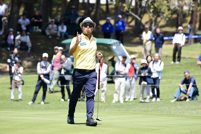 首位タイで発進した片山晋呉 2018年 パナソニックオープンゴルフチャンピオンシップ 初日 片山晋呉
