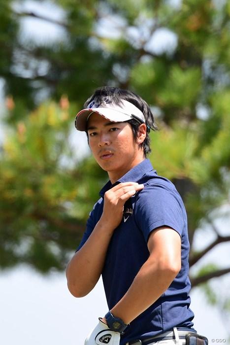 誰かにブロックサインを出してるですか? 2018年 パナソニックオープンゴルフチャンピオンシップ 2日目 石川遼