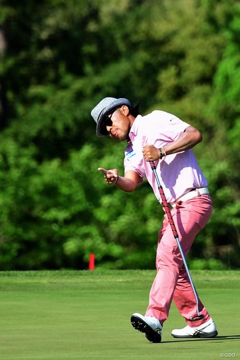 やっぱり日本人首位はこの人でした。3打差3位で最終日最終組。 2018年 パナソニックオープンゴルフチャンピオンシップ 3日目 片山晋呉