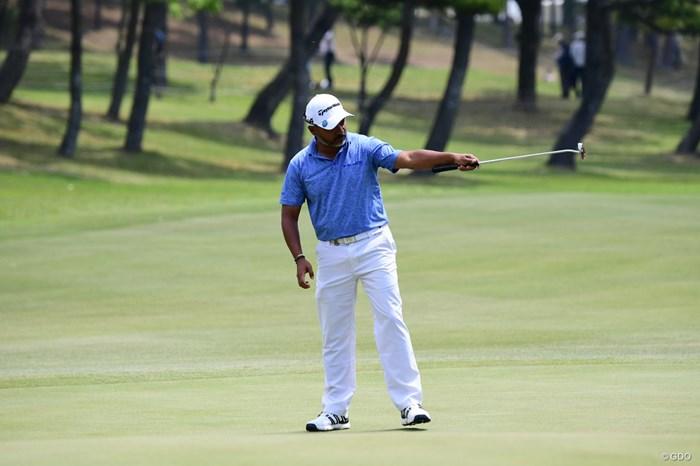 日本ツアー初優勝を挙げたガンジー 2018年 パナソニックオープンゴルフチャンピオンシップ 最終日 ラヒル・ガンジー