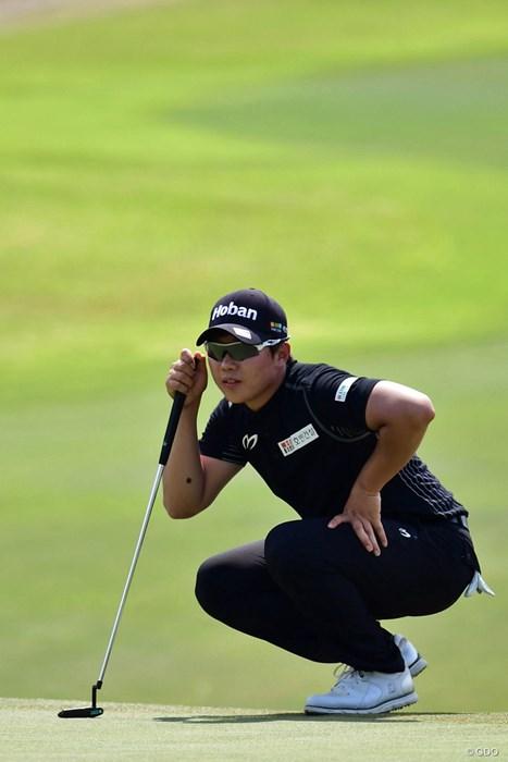 8バーディを奪う鬼ゴルフで34位タイから4位タイまでUP 2018年 パナソニックオープンゴルフチャンピオンシップ 最終日 イ・サンヒ