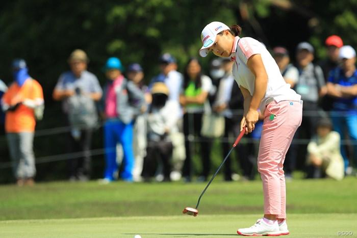 今日は安心して見られるゴルフでしたね。 2018年 フジサンケイレディスクラシック 最終日 永峰咲希
