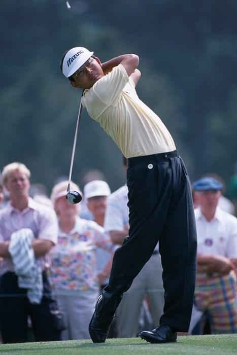 中嶋常幸は1989年のマスターズを終え、米国から撤退した (Bob Thomas/Getty Images) 1989年 マスターズ 中嶋常幸