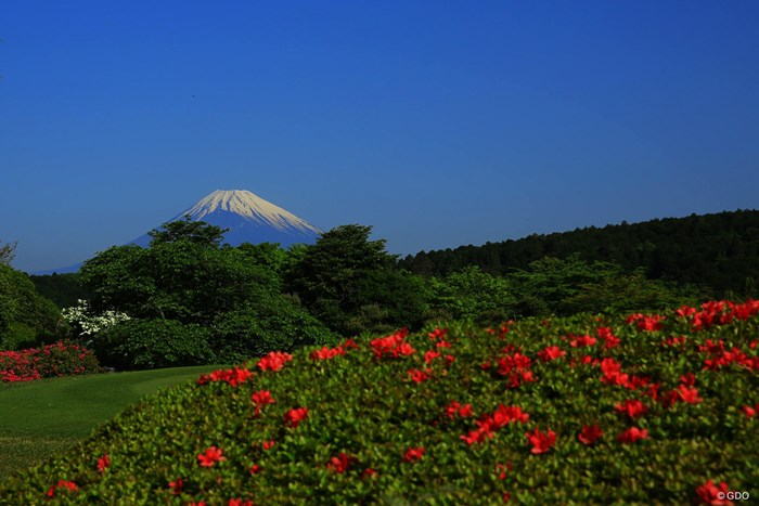 今日も朝から富士山が綺麗だったので1枚アップ。 2018年 サイバーエージェント レディスゴルフトーナメント 最終日 富士山