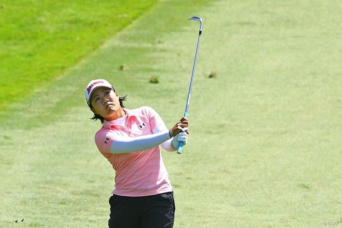 序盤から伸ばして首位に迫った畑岡奈紗 2018年 LPGAメディヒール選手権 最終日 畑岡奈紗