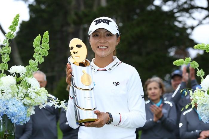 涙の復活優勝になったリディア・コー 2018年 LPGAメディヒール選手権 最終日 リディア・コー