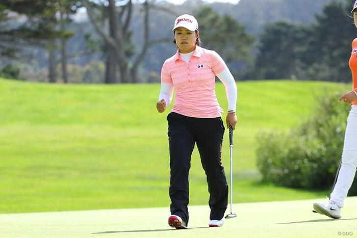 初のトップ10入りを果たした畑岡。好調を維持して帰国参戦する 2018年 LPGAメディヒール選手権 最終日 畑岡奈紗