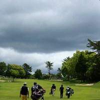 曇りなんだけど晴れ 2018年 関西オープンゴルフ選手権競技 3日目 片山晋呉