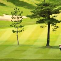 関西らしいこのアップダウン 2018年 関西オープンゴルフ選手権競技 3日目 片山晋呉
