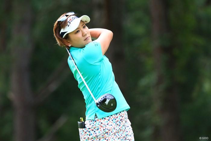 プレーオフ4ホール目で有村智恵を破り、今季初優勝を飾った成田美寿々 2018年 サントリーレディスオープンゴルフトーナメント 最終日 成田美寿々