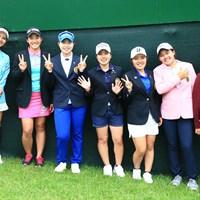 未来のプロゴルファーたちと 2018年 サントリーレディスオープンゴルフトーナメント 最終日 宮里藍