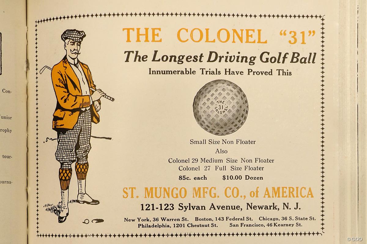 ゴルフボール広告