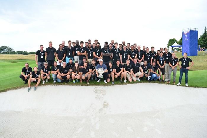 鮮やかな逆転で欧州ツアー10勝目を飾ったアレックス・ノレン (Dave Winter/Getty Images) 2018年 HNAフランスオープン 最終日 アレックス・ノレン