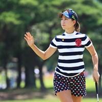 上田桃子は谷口徹の助言を生かして8位に浮上 2018年 センチュリー21レディスゴルフトーナメント 2日目 上田桃子