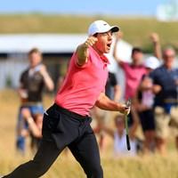 14番で魅せたイーグル! 2018年 全英オープン 最終日 ロリー・マキロイ