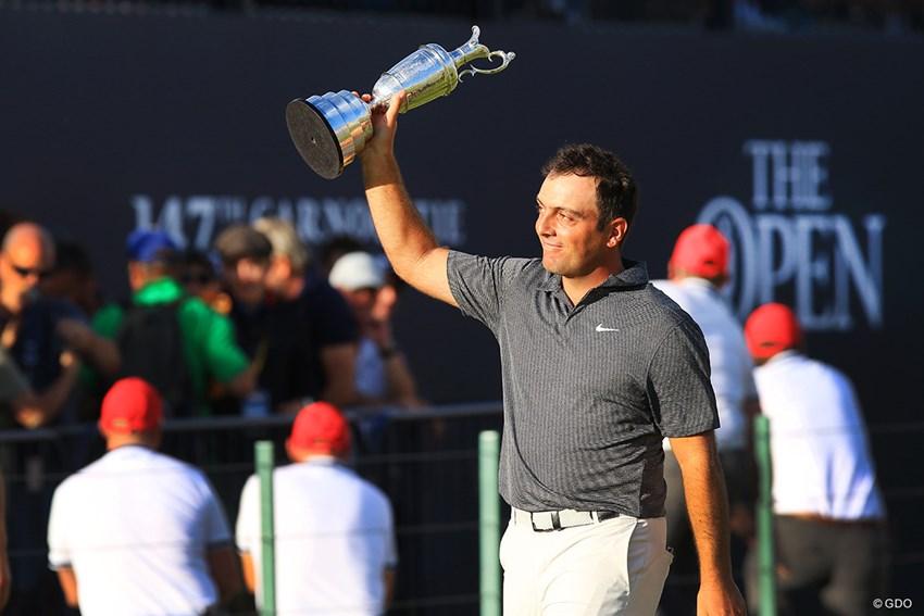 イタリア人初の偉業は、今年の米ツアー優勝の直後に成し遂げた 2018年 全英オープン 最終日 フランチェスコ・モリナリ