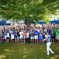 最前列はマジラッキー!! 2018年 全米プロゴルフ選手権 3日目 ロリー・マキロイ