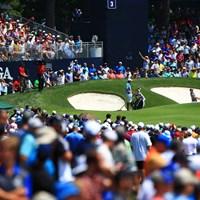 どこでプレーしてるでしょうか 2018年 全米プロゴルフ選手権 3日目 ロリー・マキロイ