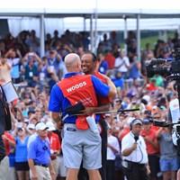 タイガー・ウッズが5年ぶりの勝利を大観衆の前で挙げた 2018年 ツアー選手権byコカ・コーラ 最終日 タイガー・ウッズ