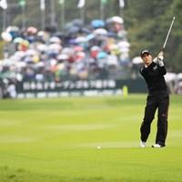 ボールの前でしっかりスイング 2018年 日本女子オープンゴルフ選手権競技 初日 キム・ハヌル