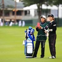 2アンダー、もう一つ伸ばしておきたいね 2018年 日本女子オープンゴルフ選手権競技 初日 キム・ハヌル