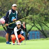 パターも決まれば完璧だし 2018年 日本女子オープンゴルフ選手権競技 初日 渡邉彩香
