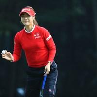 お見事!! 2018年 日本女子オープンゴルフ選手権競技 2日目 キム・ハヌル
