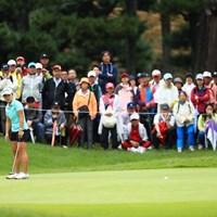 おしいんですけど~ 2018年 日本女子オープンゴルフ選手権競技 最終日 畑岡奈紗