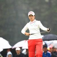 逆転V狙って 2018年 日本女子オープンゴルフ選手権競技 最終日 菊地絵理香