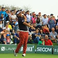 今日はショットが乱れたか。 2018年 日本オープンゴルフ選手権競技 初日 池田勇太