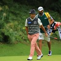 今日は流石のプレーを見せつけましたね。 2018年 日本オープンゴルフ選手権競技 2日目 片山晋呉