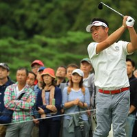 前年覇者の池田勇太は11オーバー113位で予選落となった 2018年 日本オープンゴルフ選手権競技 2日目 池田勇太