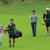 この2人でのラウンドって濃いなぁ。 2018年 日本オープンゴルフ選手権競技 3日目 谷口徹 片山晋呉