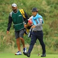 懐かしのディレクター巻き。 2018年 日本オープンゴルフ選手権競技 最終日 片山晋呉