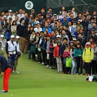 パッティング次第で優勝争いに顔を出しそうな雰囲気ですね。 2018年 日本オープンゴルフ選手権競技 最終日 石川遼