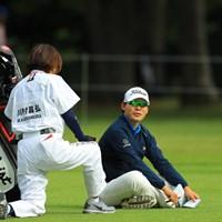 恐らく川村君は良いパパになるんだろうなぁと思わせる1枚。 2018年 ブリヂストンオープンゴルフトーナメント 初日 川村昌弘