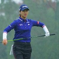 もう、雨嫌いっ! 2018年 伊藤園レディスゴルフトーナメント 初日 キム・ハヌル