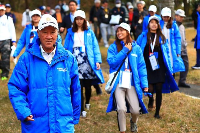テンションMAX 2018年 ゴルフ日本シリーズJTカップ 初日 青木功