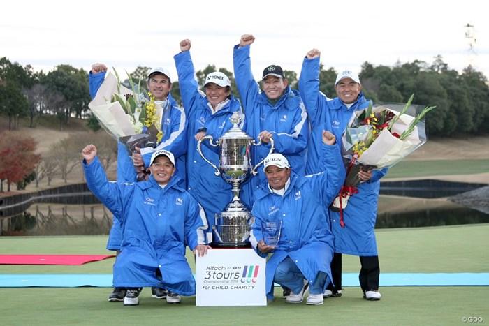 今年の国内ツアー日本一はシニア!6年ぶり3回目の優勝を飾った 2018年 Hitachi 3Tours Championship 初日 国内シニア