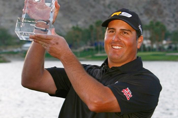 昨年大会で通算33アンダーをマーク、ツアー初勝利を飾ったP.ペレス(Jeff Gross /Getty Images) 2010年 ボブホープ・クラシック事前 パット・ペレス