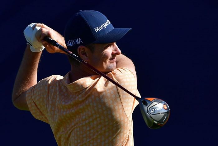 本間ゴルフと契約から2試合目で優勝を飾ったJ.ローズ(Donald Miralle/Getty Images) 2019年 ファーマーズインシュランスオープン 最終日 ジャスティン・ローズ