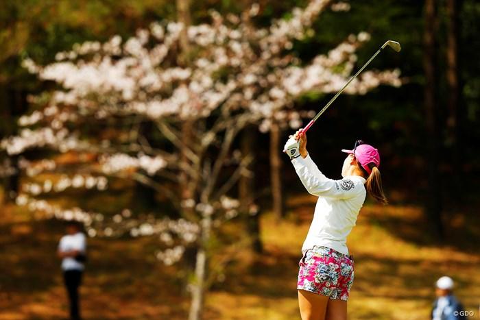 サクラ桃子 2019年 アクサレディスゴルフトーナメント in MIYAZAKI 2日目 上田桃子